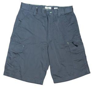 NWOT Ascend Men's Grey Cargo Shorts Size 30
